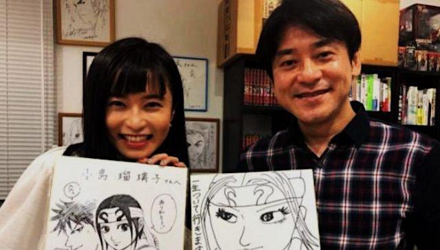 小島瑠璃子、キングダム漫画家・原泰久氏と「福岡縁結び連泊愛」