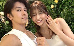 武田真治さん、22歳下のモデル・静まなみさんと結婚