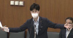 柚木議員「台風シーズンに向け備えないと避難所で三密回避はできない。ぜひ、毎日のように国会を開いて対応を!さて、河井夫妻が…」