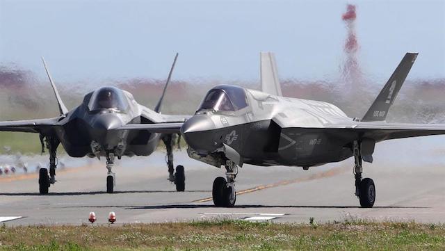 【琉球新報】普天間、F35Bが3機飛来…響き渡る騒音「すごく怖い」