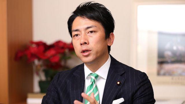 小泉進次郎氏、盲腸手術で入院へ