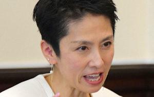 蓮舫参院議員が離婚「人生観の違い」「今も連絡を取り合うほど仲はいい」