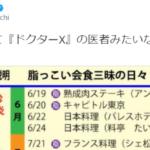 町山智浩氏が2014年の首相動静拡散… 安倍首相、持病再発後も「焼肉食いまくってた」は誤り