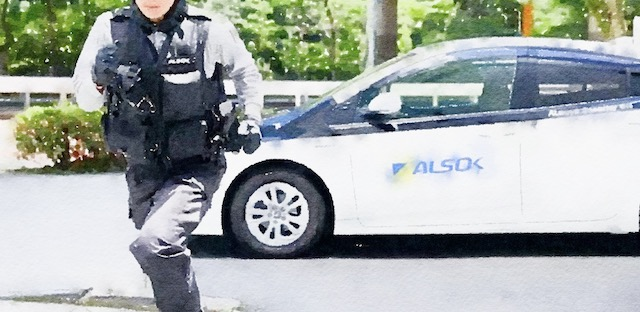 巡回中に現金窃盗「パチスロで借金」 元ALSOK警備員を再逮捕