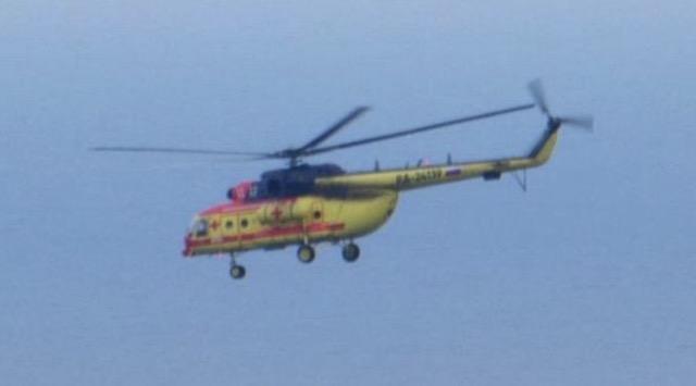 """機体に""""赤十字のマーク"""" ロシアヘリが領空侵犯 知床岬上空"""