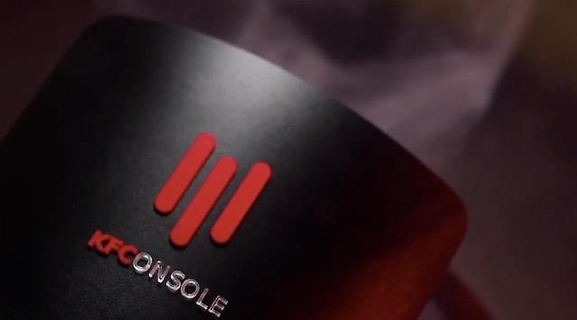 """ケンタッキーフライドチキン、次世代ゲーム機「KFConsole」正式発表!""""PCから発生する熱でチキンを暖める機能""""を搭載"""