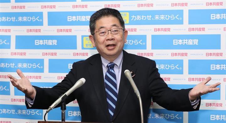 共産・小池氏「オリンピックはいったんやめて、そのお金をワクチンなどコロナ対策に回すべきだ」