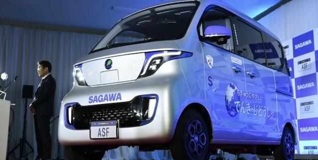 中国製EV、日本に本格上陸 佐川急便が7200台採用