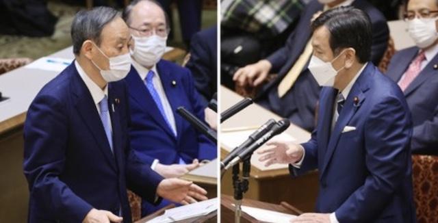 【時事世論調査】菅内閣支持横33%、立憲民主党2.9%