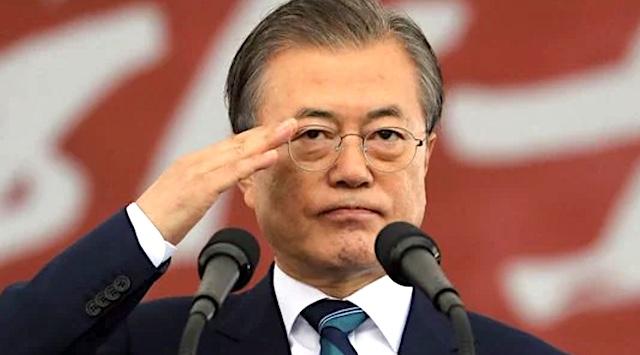 韓国・文大統領「韓国は名実ともに先進国、血と汗で成し遂げた成果だ」