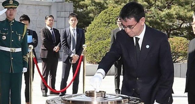 門田隆将さん「河野太郎氏は靖国参拝は拒否でも韓国の英雄達を葬ったソウル国立顕忠院には参拝…」